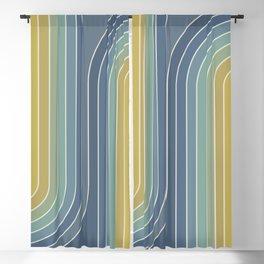 Gradient Curvature VIII Blackout Curtain