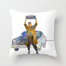 Say Anything - Lloyd Dobler (John Cusack) Throw Pillow