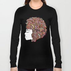 Her Hair - Les Fleur Edition Long Sleeve T-shirt