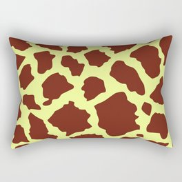 Giraffe skin dark Rectangular Pillow