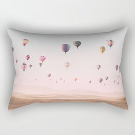 Around the World Rectangular Pillow