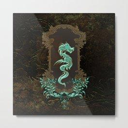 Awesome chinese dragon Metal Print