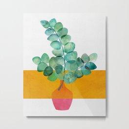 Eucalyptus + Sunshine Metal Print