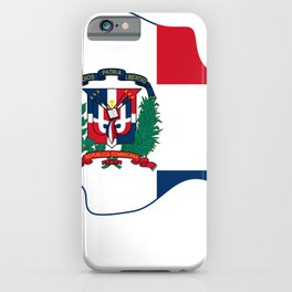 The Dominican Republic - República Dominicana - Hispaniola - Greater Antilles - Caribbean iPhone Case