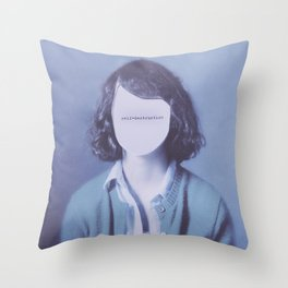 Self-Destruction Throw Pillow