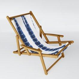 Indigo Blue Tie Dye Delight Sling Chair