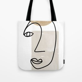 Line Art, She I Tote Bag