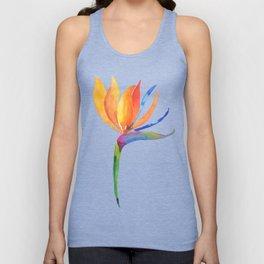 Bird of Paradise Flower Unisex Tank Top