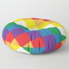 Wiphala Floor Pillow