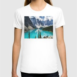 Lake Moraine Banff T-shirt
