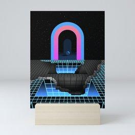 DÉTRUIT 1984 Mini Art Print