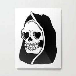 Are you dead yet? Metal Print