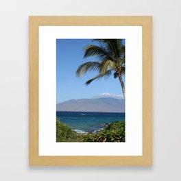WEST MAUI MOUNTAINS Framed Art Print