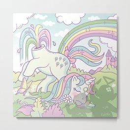 My little pony Metal Print