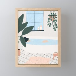 weekend plans Framed Mini Art Print