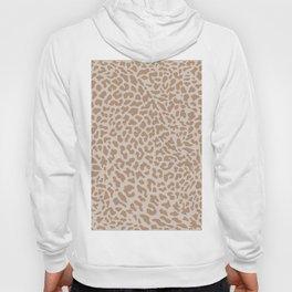 Natural Boho Animal Print Hoody