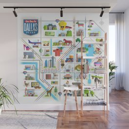 Take Time For Dallas Wall Mural