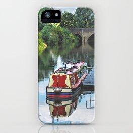 Tewkesbury Waterside iPhone Case