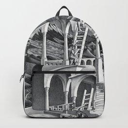 mc escher belvedere Backpack