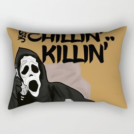 Scream killer Rectangular Pillow
