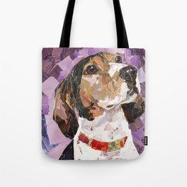 Delilah The Treeing Walker Coonhound Tote Bag