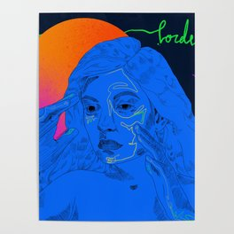 Lorde - Melodrama Poster