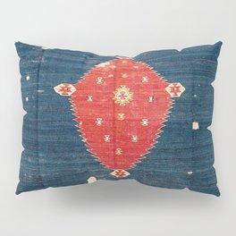 Balikesir  Antique Turkish Kilim Rug Print Pillow Sham