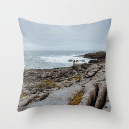 Wild Atlantic Waves - Ireland Throw Pillow