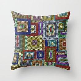 Kaffe Fassett Squares Throw Pillow