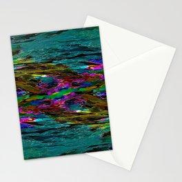 Evening Pond Rhapsody Stationery Cards