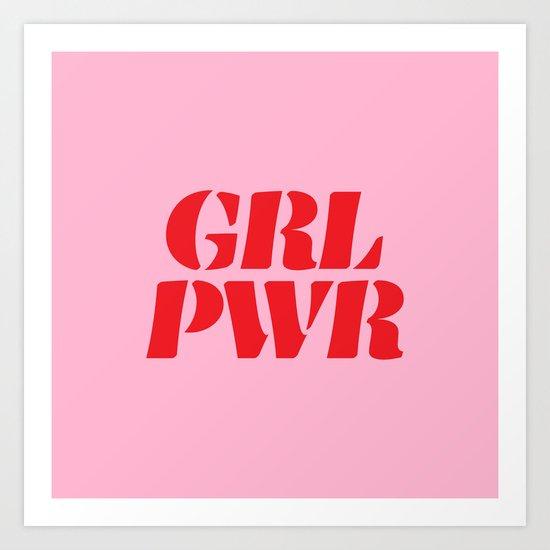 Girl Power GRL PWR by creativeangel