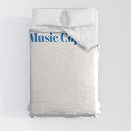 Music Copyist Ninja in Action Comforters