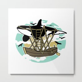 Sailing Gifts Metal Print