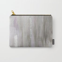 Lavender & Silver Carry-All Pouch