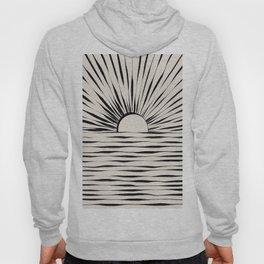 Minimal Sunrise / Sunset Hoody