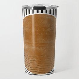 Abstract Modern Poster Travel Mug