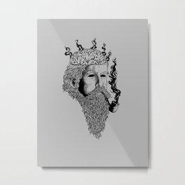Heavy smoker Metal Print