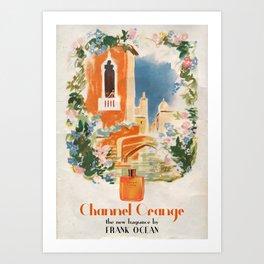 CHANNEL ORANGE Art Print