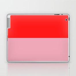 Watermelon Red & Peach Pink Laptop & iPad Skin
