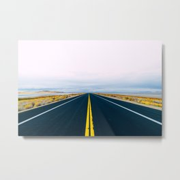 Escape to Antelope Island Metal Print