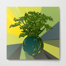 The Plant Metal Print