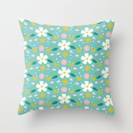 Sweet lilly Throw Pillow