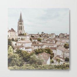 France Photography - Arrondissement Of Nérac Metal Print