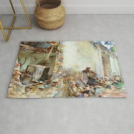 A Street in Arras - Digital Remastered Edition Rug