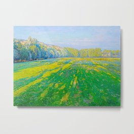 Václav Radimský (1867-1946) Bright Landscape Impressionist Landscape Painting Bright Colors Oil Metal Print
