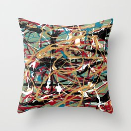 """Sloppy Kisses"" Throw Pillow"