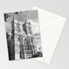 Classic Westminster Abbey of London Stationery Cards