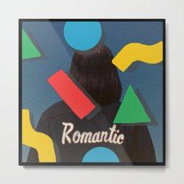 Retro Romantics Metal Print