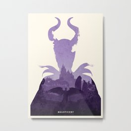 Maleficent (II) Metal Print