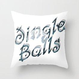 Jingle Balls Throw Pillow